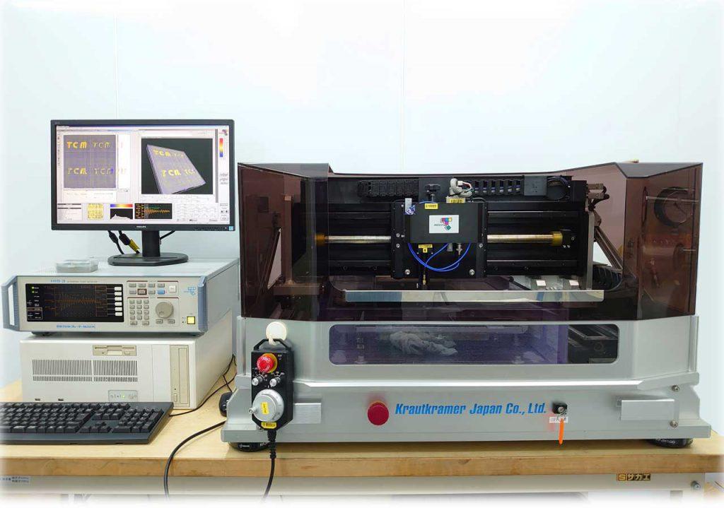 超音波探傷機器